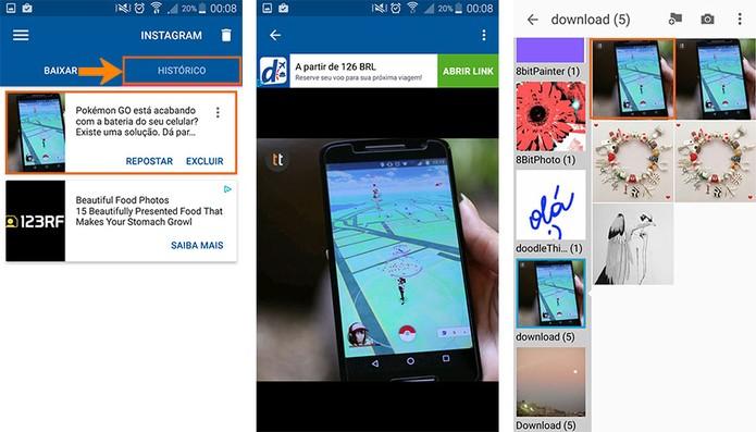Confira o conteúdo pelo app no celular em tela cheia ou na galeria do Android (Foto: Reprodução/Barbara Mannara) (Foto: Confira o conteúdo pelo app no celular em tela cheia ou na galeria do Android (Foto: Reprodução/Barbara Mannara))