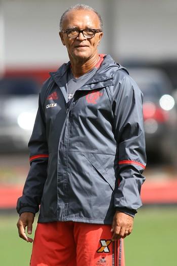 Jayme de Almeida, treino do Flamengo (Foto: Gilvan de Souza / Flamengo)