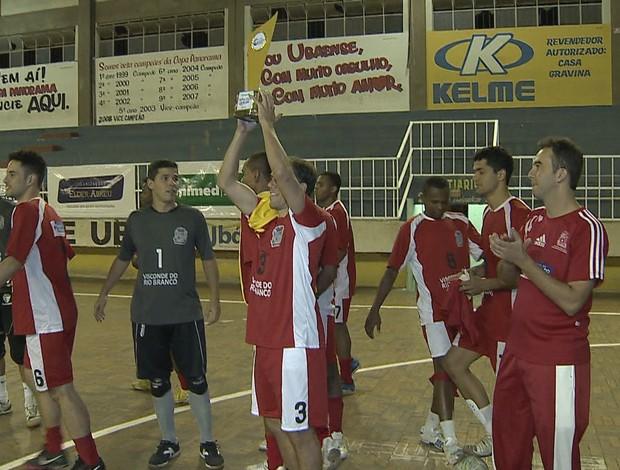 Copa Integração Visconde Rio Branco (Foto  Reprodução TV Integração) 717cb6d1e1308