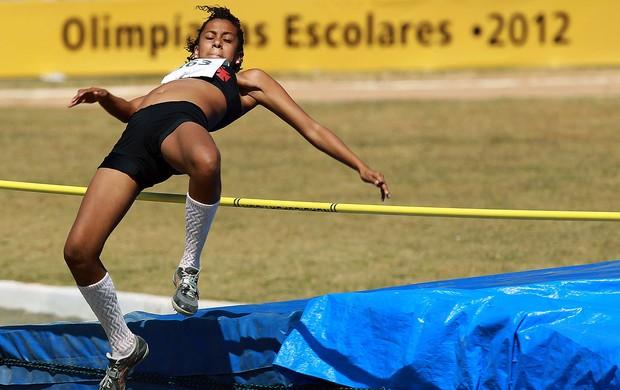 Atletismo Olimpíadas Escolares - Sara Vasco da Gama (Foto: Satiro Sodré / COB)