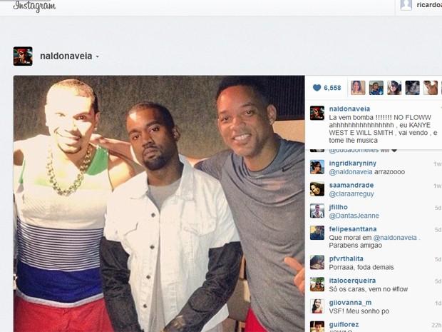 G1 - De férias ou... Will Smith Instagram