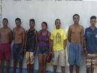 Operação prende sete suspeitos de tráfico de drogas em Maribondo, AL