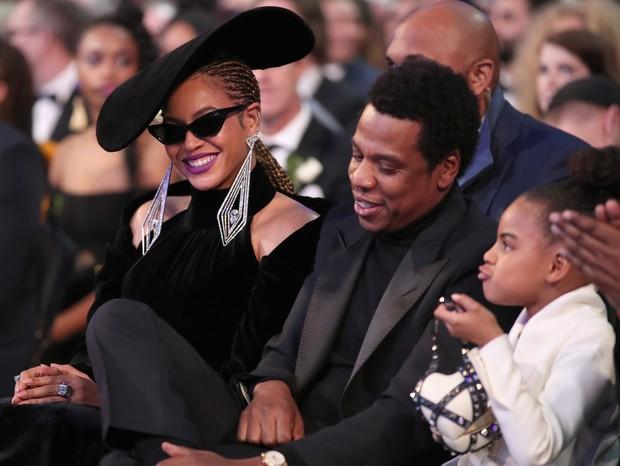 Beyoncé, Jay-Z e Blue Ivy (Foto: Reprodução)