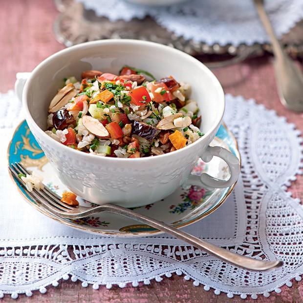 Saladinha de grãos (Foto: Iara Venanzi/Editora Globo)
