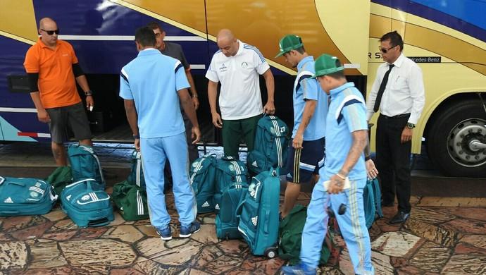 Desembarque Palmeiras (Foto: Tossiro Neto)