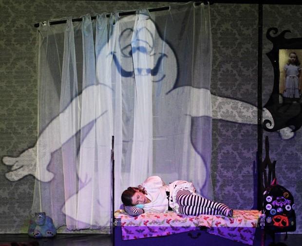 Peça tem o mesmo intuito de filmes do Tim Burton: terror para crianças (Foto: Arquivo pessoal)