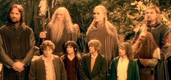 Uma cena de O Senhor dos Anéis: A Sociedade do Anel (2001) (Foto: Reprodução)