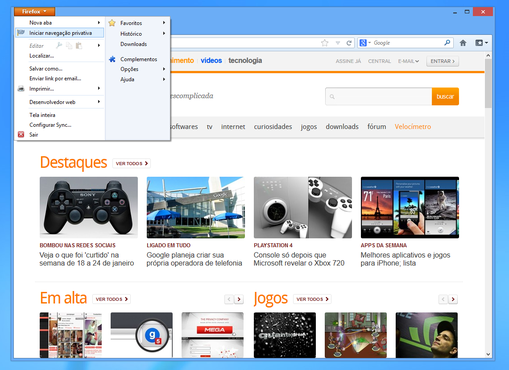screenshot de Mozilla Firefox