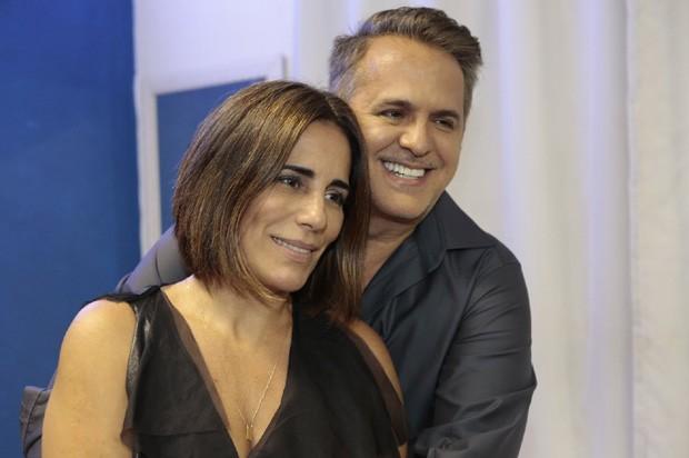 Gloria Pires e Orlando Morais (Foto: Isac Luz/Ed. Globo)