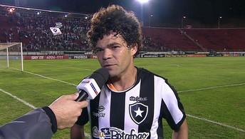 Camilo espera que Botafogo consiga manter regularidade no Brasileiro
