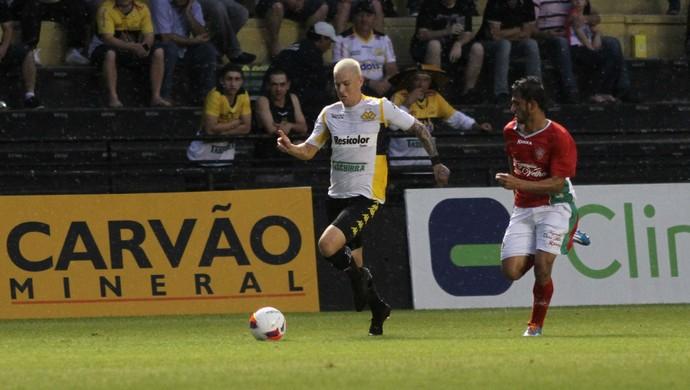Róger Guedes Criciúma x Boa Esporte (Foto: Fernando Ribeiro/Criciúma EC)