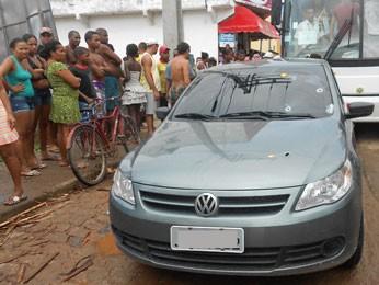 Homem morre e dois são presos em tentativa de assalto em Valença (BA) (Foto: Ciriaco Pimentel/ Site Ainda Hoje)