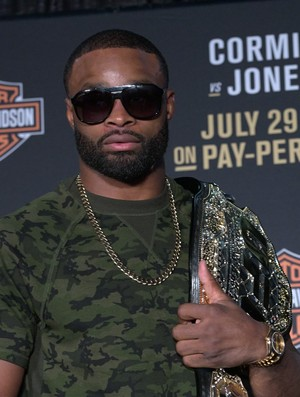 Tyron Woodley; UFC 214 (Foto: Evelyn Rodrigues)