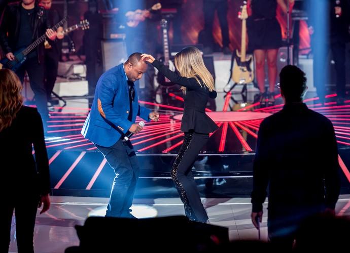 Thiaguinho e Sandy superstar top7 (Foto: Isabella Pinheiro/Gshow)