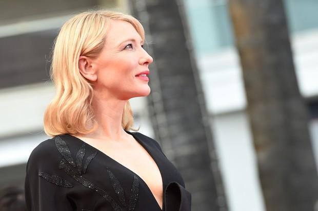 Cate Blanchett no Festival de Cannes (Foto: AFP)