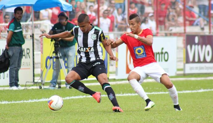 Inter de Lages x Figueirense (Foto: Greik Pacheco/Inter de Lages)