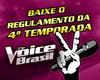 Veja o regulamento de inscrição para a próxima temporada! (The Voice Brasil/TVGlobo)
