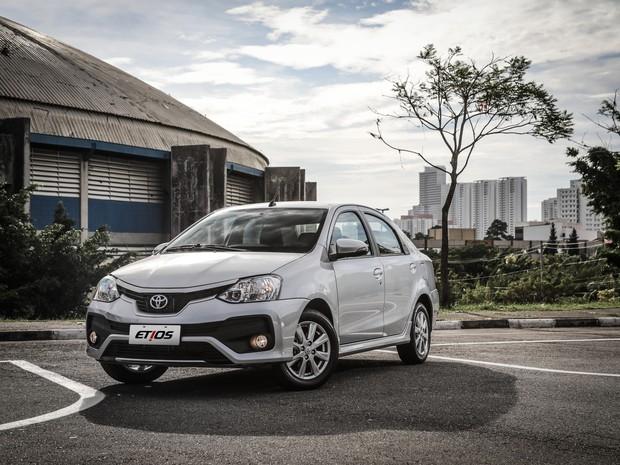 Toyota Etios 2018 (Foto: Divulgação)
