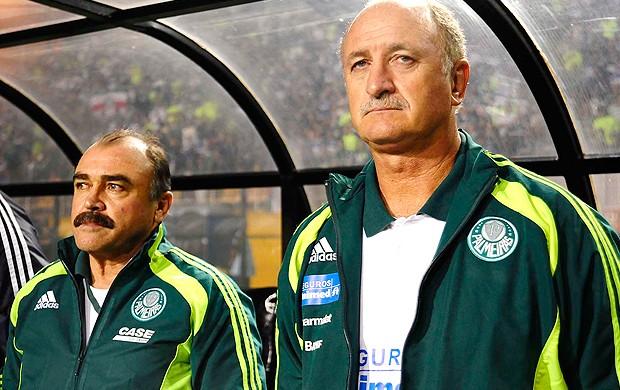 Scolari Felipão Murtosa Palmeiras x Goiás (Foto: Marcos Ribolli / Globoesporte.com)