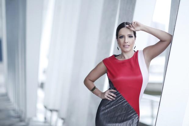 Renata Dominguez em ensaio de moda para o EGO (Foto: Marcos Serra Lima / EGO)