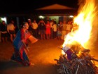 Caminhantes chegam a Taquaritinga, PE, levando chuva para o Agreste