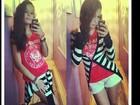 Solange Gomes posta foto da filha e se derrete: 'Linda! Estilosa demais'