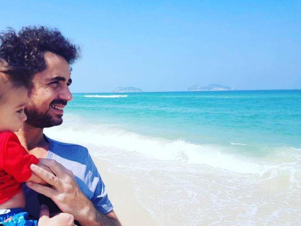 Felipe Andreoli e Rocco (Foto: Reprodução/Instagram)