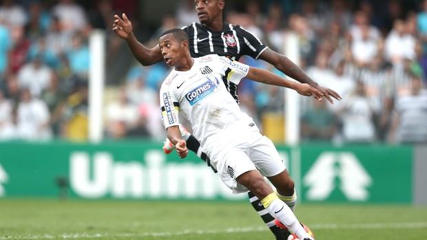 Robinho, Santos e Corinthians (Foto: Marcos Ribolli)