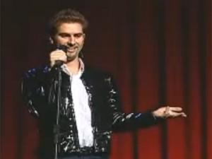 Fausto Fanti também interpretou o comediante Dudu Marchiori (Foto: Reprodução/YouTube)