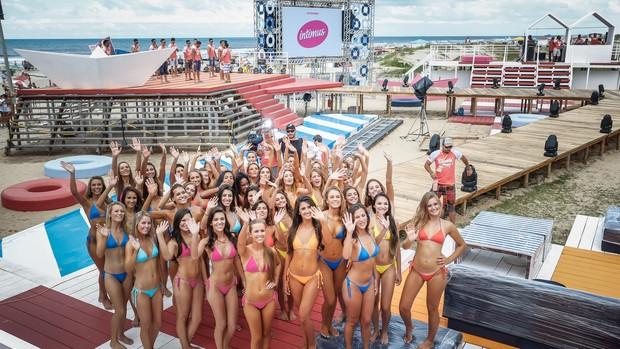 40 meninas estão na final do concurso Garota Verão 2015 (Foto: Emmanuel Denaui/Agência Preview)