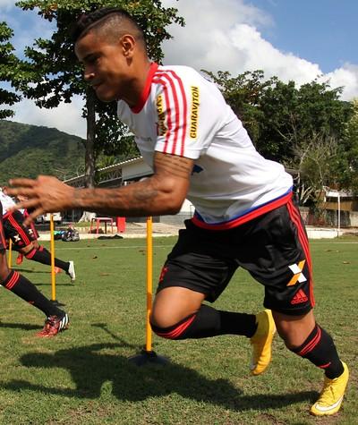 Everton, Ninho do Urubu, treino, Flamengo (Foto: Gilvan de Souza/ Fla Imagem)