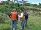 Órgão avalia áreas consideradas de risco durante chuvas em Pilar do Sul