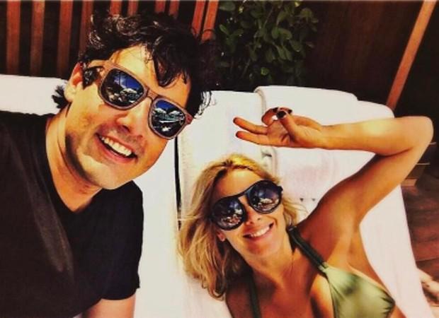 Bruno De Luca e Carlina Dieckmann (Foto: Reprodução/Instagram)