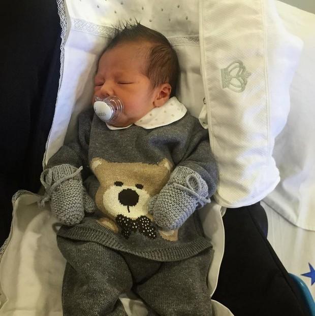 Lucca, filho de Camila Moura e Leo Moura (Foto: Reprodução/Instagram)