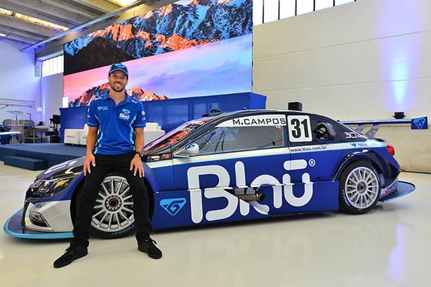 O piloto Marcio Campos stock #31 blau motorsport (Foto: Divulgação/Fernanda Freixos)
