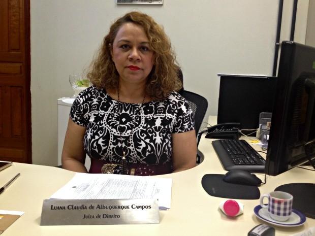 Juíza Luana Campos fala sobre saída temporária de natal  (Foto: Iryá Rodrigues/G1)