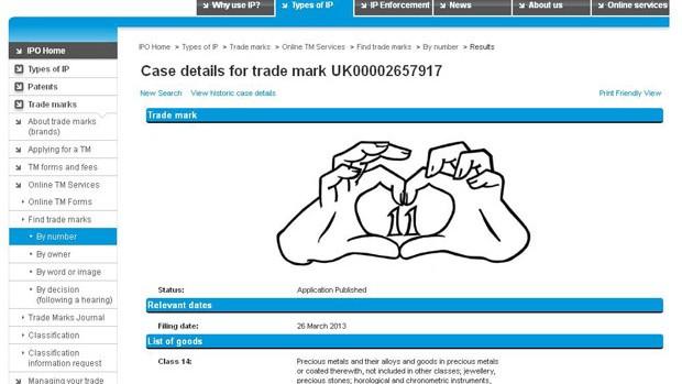 gareth Bale quer patentear comemoração do coraçãozinho (Foto: Reprodução)
