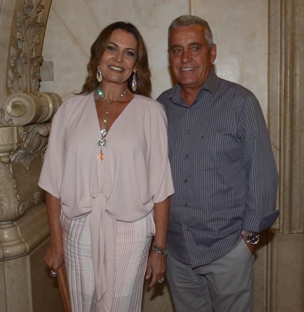 Patrícia Naves e Mauro Naves (Foto: Francisco Cepeda/AgNews)