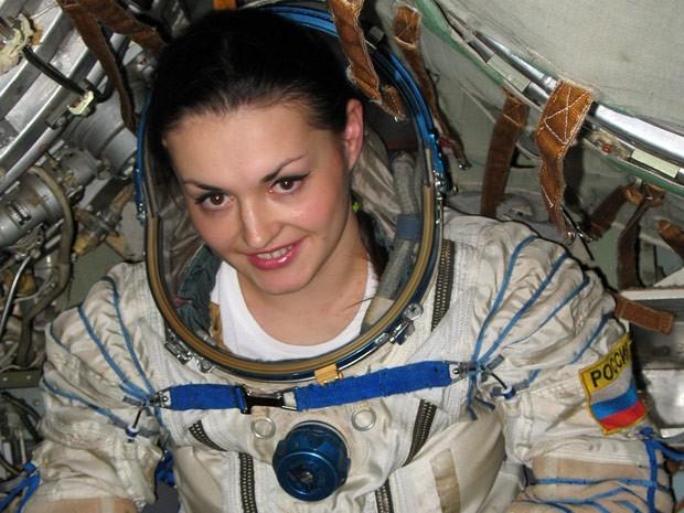 Yelena Serova irá para missão espacial em 2014 (Foto: AFP)
