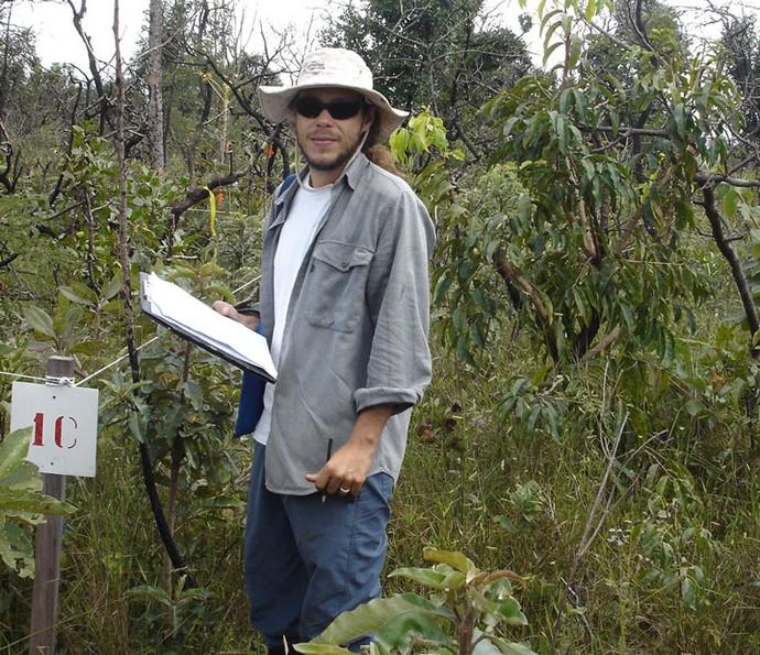 O brother do BBB16 Tamiel é professor de ecologia vegatal (Foto: Acervo Pessoal)