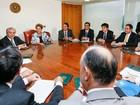 Dilma recebe apoio de governadores do Nordeste em reunião no Planalto