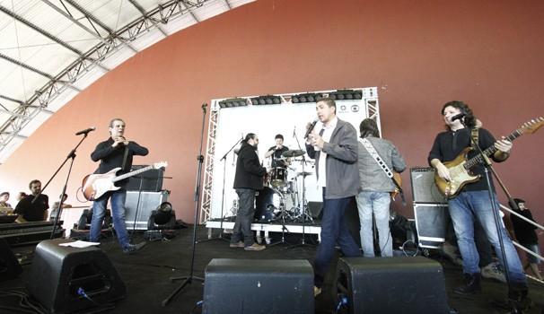 Banda Blindagem (Foto: Euricles Macedo/ RPC TV)