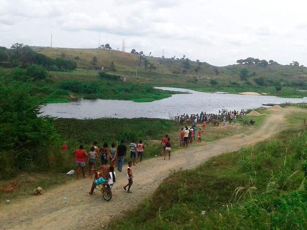 Jovem se afogou enquanto tentava atravessar rio (Foto: Site Giro em Ipiaú)