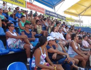 Público vôlei de praia (Foto: Viviane Leão/GloboEsporte.com)