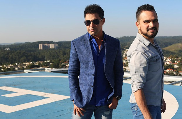 Zezé Di Camargo e Luciano (Foto: Iwi Onodera / EGO)