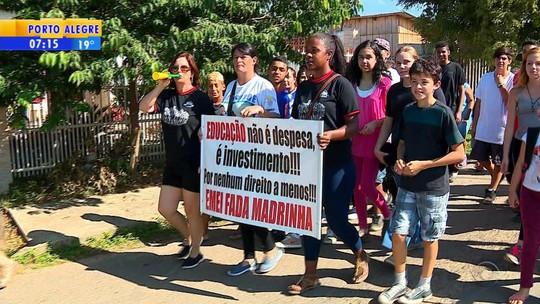 Servidores de Cachoeirinha fazem greve de fome contra cortes