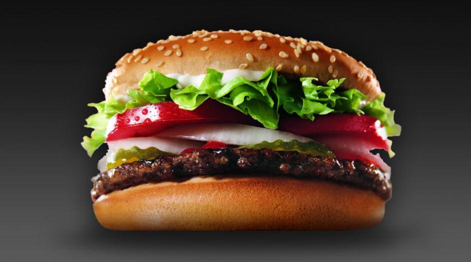 O sanduíche Whopper, do Burguer King, agora de graça para quem tem o sobrenome Parrilla na Argentina (Foto: Divulgação)