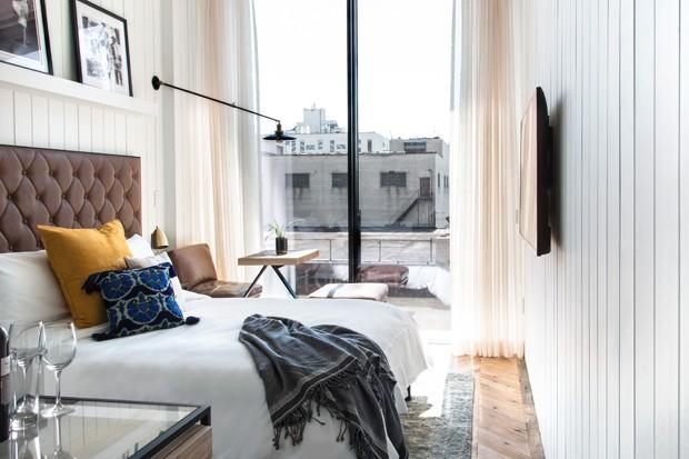 Novo Williamsburg Hotel reúne o melhor da atmosfera do Brooklyn (Foto: Annie Schlechter/ Divulgação)