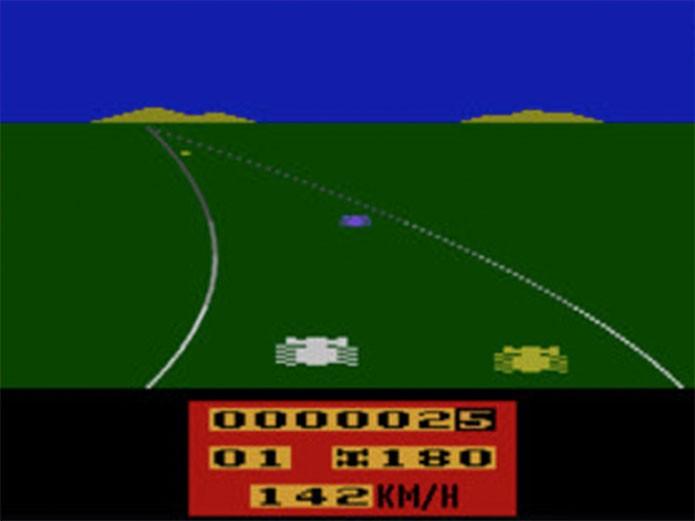 Enduro, o jogo infinito do Atari (Foto: Reprodução/Atari Archives)