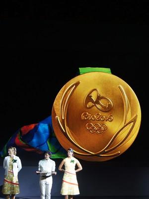 Medalha dos Jogos Olímpicos e Paralímpicos Rio 2016 (Foto: Thierry Gozzer)